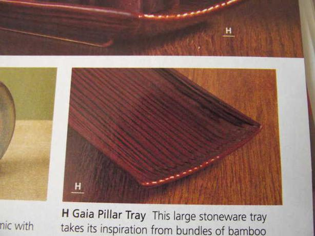 Partylite Gaia Pillar Tray - new