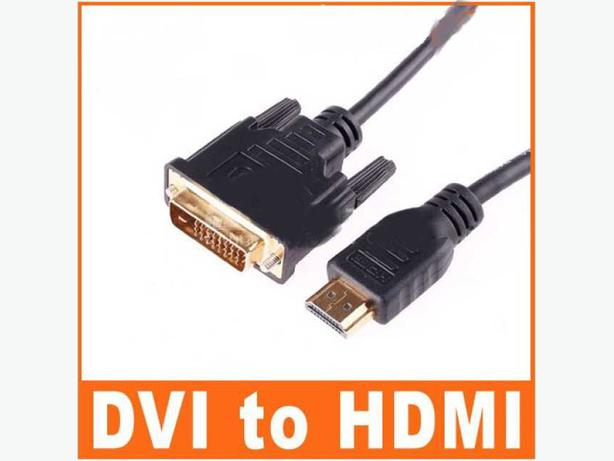 New 10Ft (3m) Gold DVI Male To HDMI Male Cable For HDTV PC LCD PS3