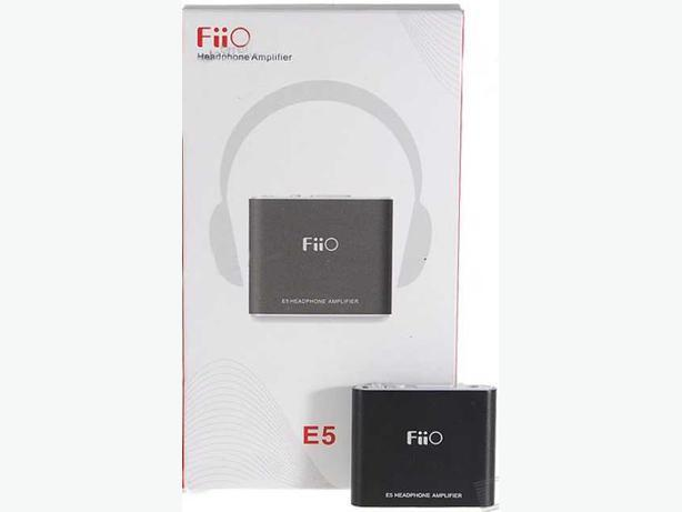 Fiio E5 Personal Headphone Amplifier with Bass Boost & Rechargeable