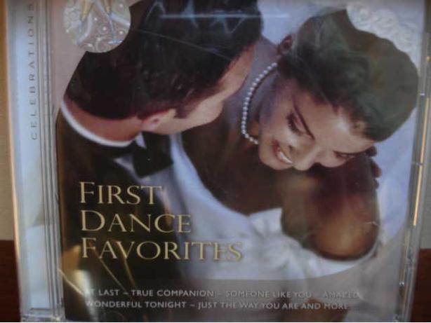 New First Dance Favorites Music CD Great for Wedding-StillInSealedWrap