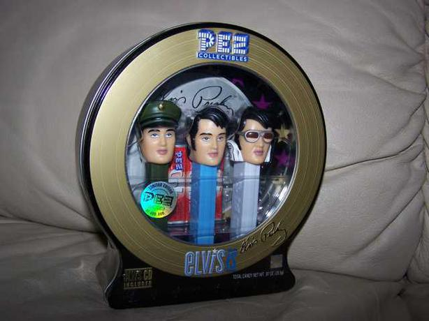 ELVIS PRESLEY  PEZ  COLLECTABLE