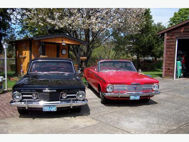 WANTED: 1965 Plymouth VALIANT & BARRACUDA