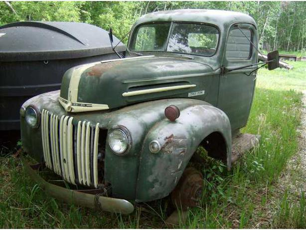 WANTED:  1946/47 Ford Mercury Truck
