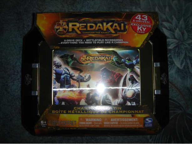 Redakai Championship Tin. (NEVER OPENED)