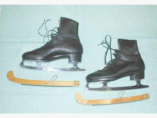 Excellent High End Vintage Mens Figure Skates
