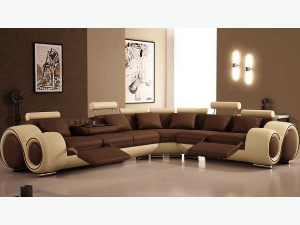 Modern furniture in2condo in2house reviews leather for Sectional sofa edmonton