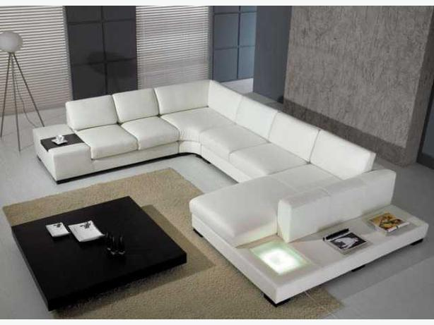 home furniture in2condo store reviews Modern Leather Sofa Bed Table!!