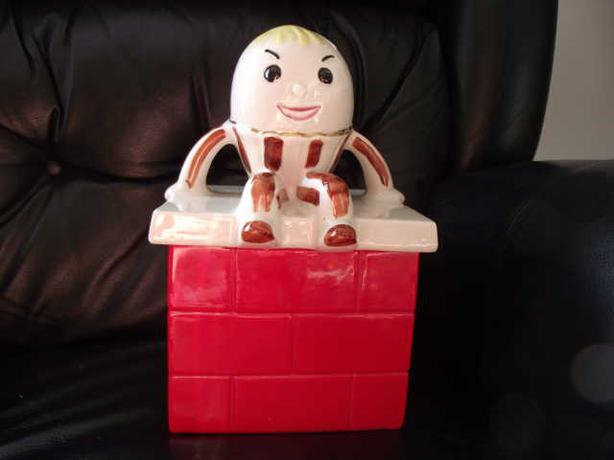 Humpty Dumpty Cookie Jar - Rare
