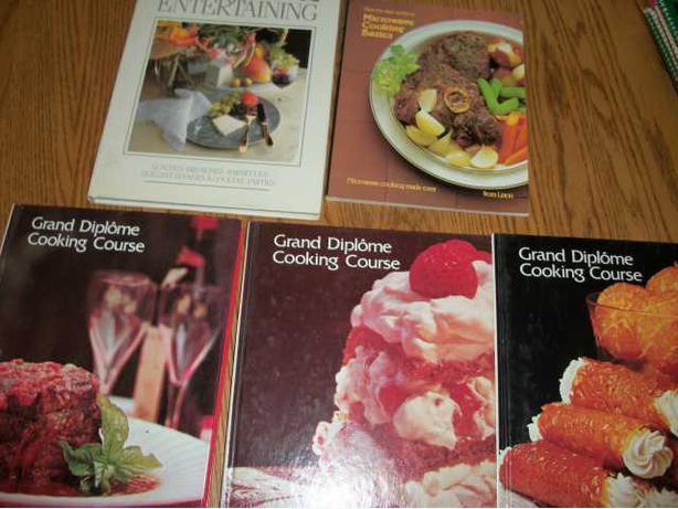 Five Cookbooks