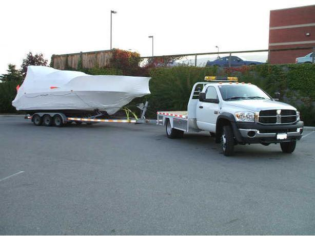 Boat Hauling, Sailboat Hauling, RV Hauling, Military & Corporate Transfers