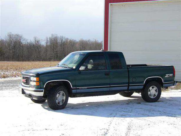 1996 gmc sierra 1500 z71 slt outside greater toronto area. Black Bedroom Furniture Sets. Home Design Ideas