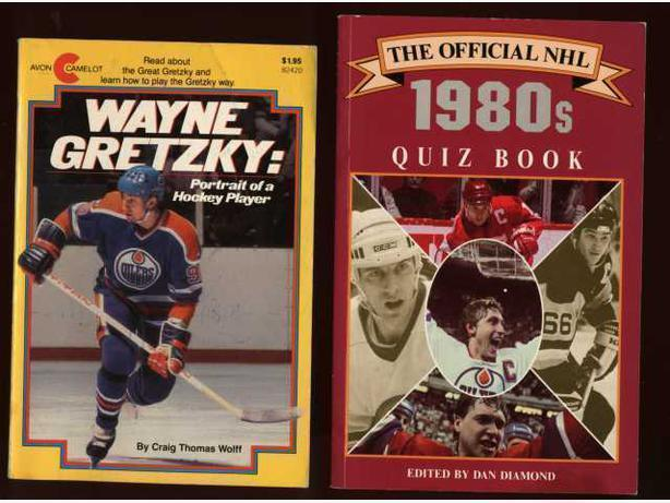 Wayne Gretzky 1983 Book Edmonton Oilers