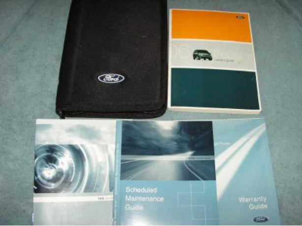 2006 FORD FREESTAR OWNERS MANUAL SET