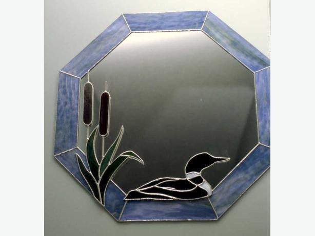 Stained glass mirrors miroirs en vitrail rockland ottawa for Miroir vitrail modeles