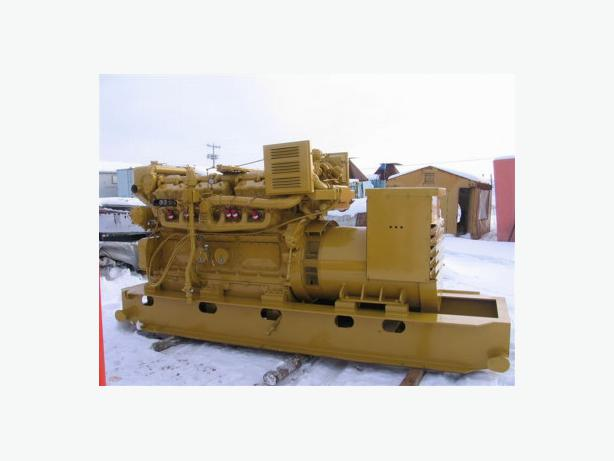 450 KW  CATERPILLAR NATURAL GAS GENSET