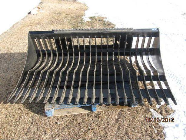 "62"", 72"", 82"" SKID STEER ROCK BUCKETS"