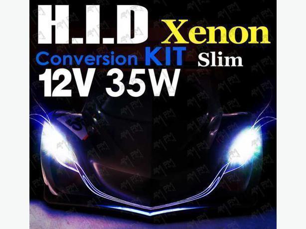 New in Box 9005 HID Super Slim Xenon Kit 6000K Color Temp