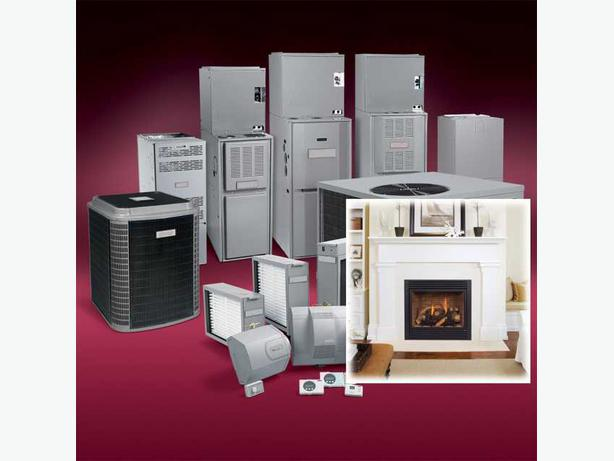 Fireplaces Gas Furnaces Central Air Conditioners Saskatoon Outside North Saskatchewan