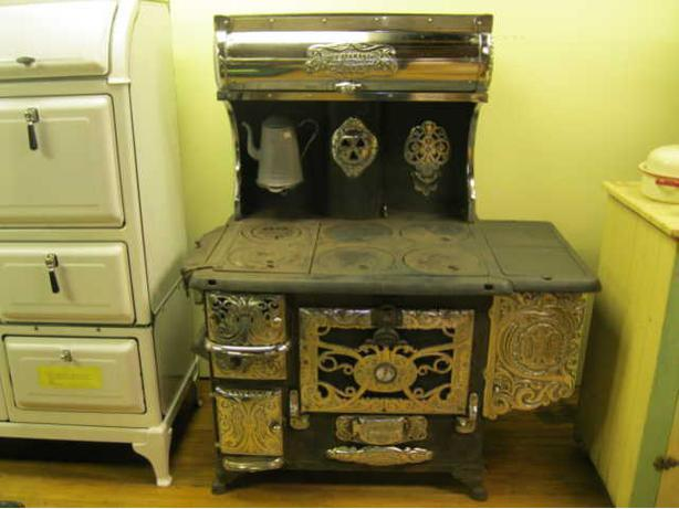1880's Buck Wood Cookstove made by Wm Buck, Brantford, Ontario