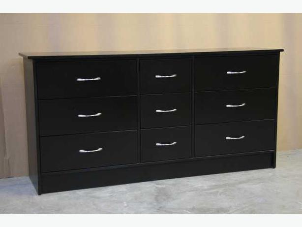 New Espresso Brown 9 Drawer Dresser