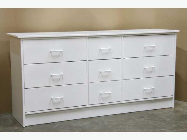 White 9 Drawer Dresser **Brand New**