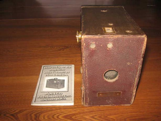 ANTIQUE ANSCO CAMERA WITH MANUAL