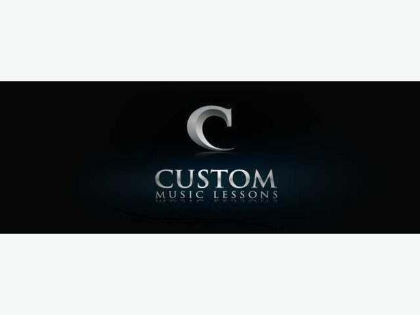 Guitar, voice, piano and drum lessons with Custom Music Lessons