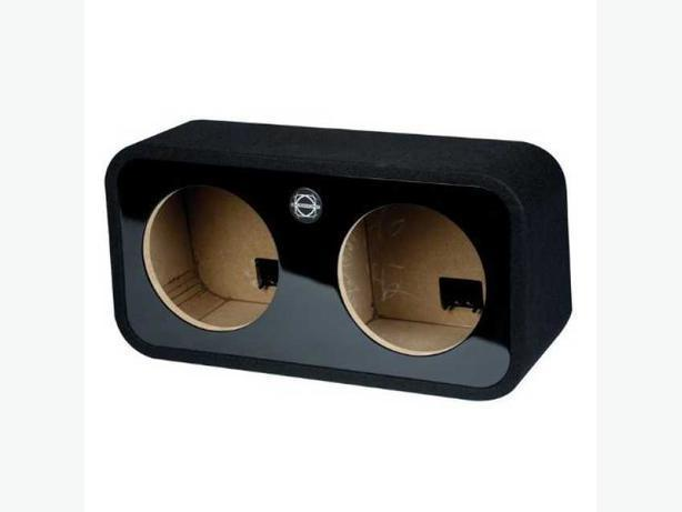 "Bassworx HSR210 Dual 10"" 1.4 CU.Ft Sealed Subwoofer Enclosure."