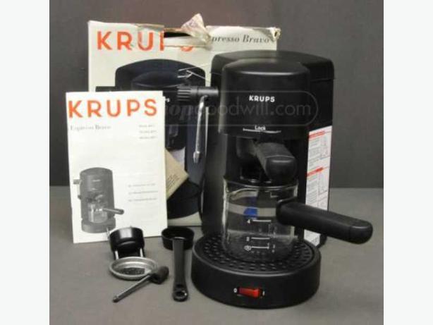 krups 871 espresso machine