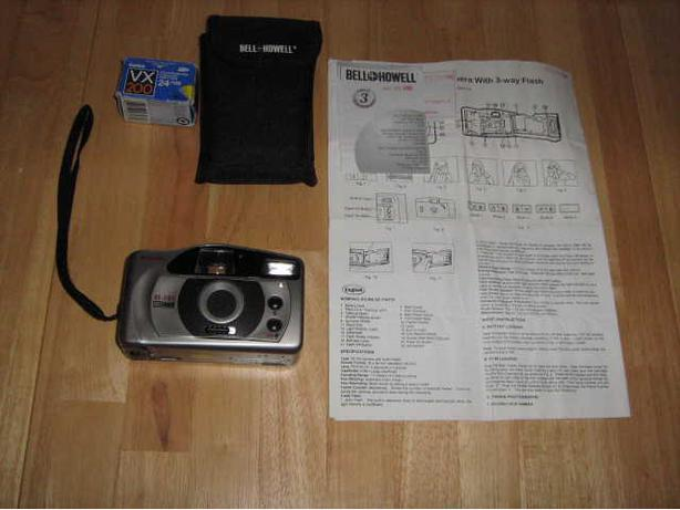 Bell + Howell Automatic 35mm Camera with Flash