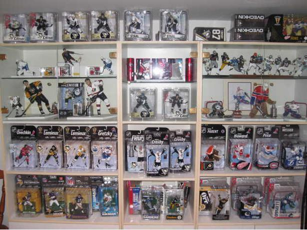 MCFARLANE NHL FIGURES - REGULAR, VARIANTS, CHASES, CLs - REDUCED