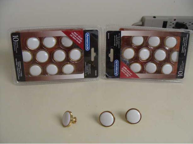 Knobs for kitchen cupboards