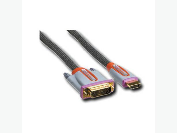 Rocketfish RF-G1112 - 4' DVI to HDMI Cable