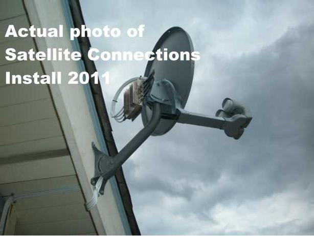 SATELLITE CONNECTION-Dishes-Installation Service-Dishpoint-Vancouver Surrey, B.C