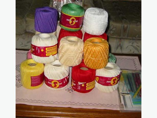 Crochet Material, Tools and Manuals