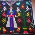 BeautifulHandCrafted Embroidered Laos Hill Tribe Small Purse WithFineDetails