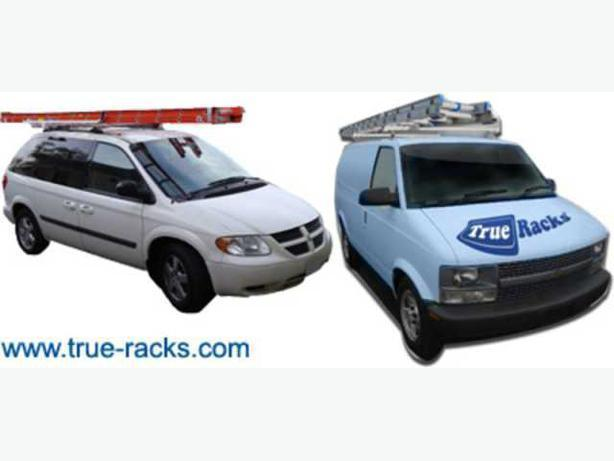 Ladder Racks for Commercial Vans, Minivans - Van Shelving