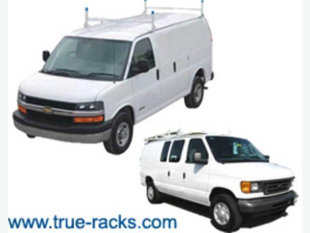 Ladder Racks for Commercial Vans, Minivans - Van Shelving