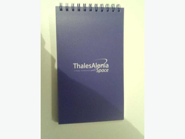 Thales Alenia Space Notepad by