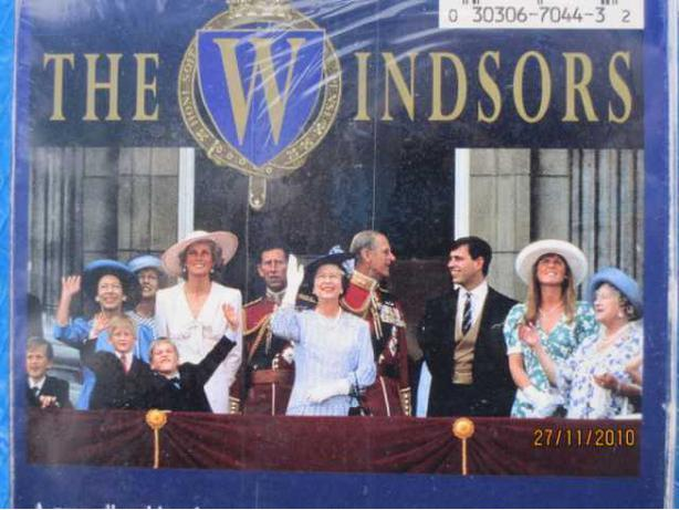 THE WINDSORS, SET OF 2.