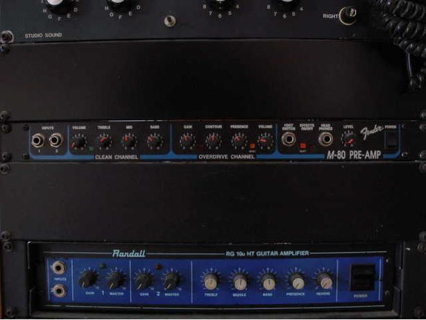 Fender M-80 Guitar Pre-Amplifier