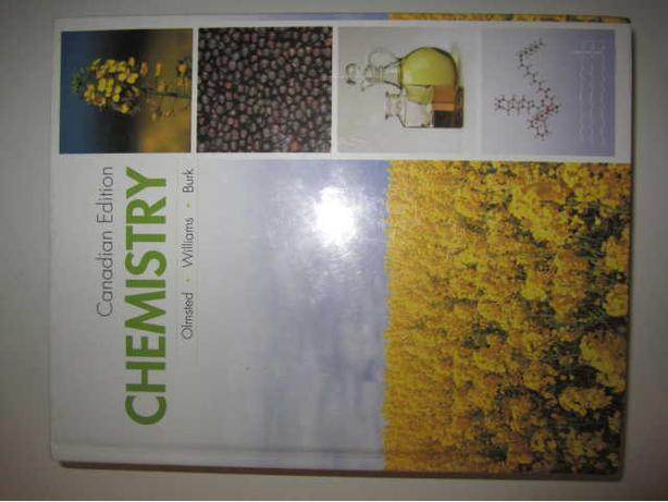 Canadian Edition Chemistry, Text & Sol'n manual by Olmsted, Willams, Burk