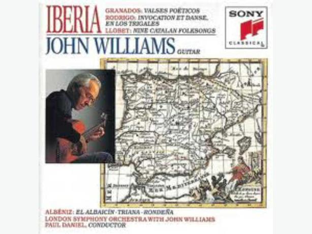 BRAND NEW, UNOPENED CD - IBERIA - JOHN WILLIAMS