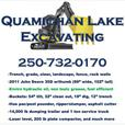 DRAINAGE SPECIALIST Quamichan Lake Excavating