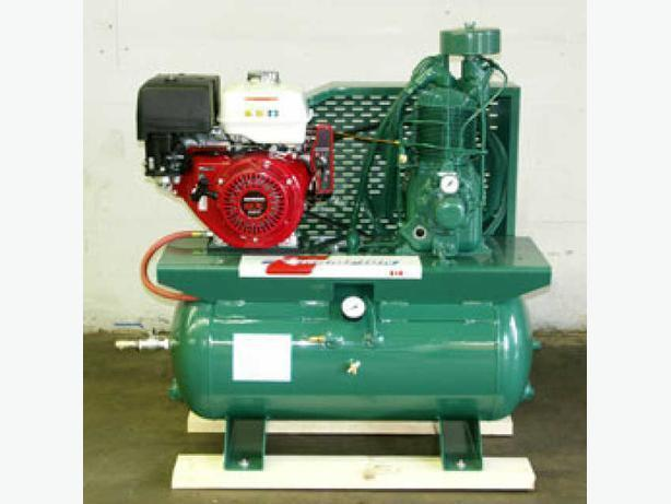New Champion with 13 Hp. Honda Gas Truck Mounted Compressor