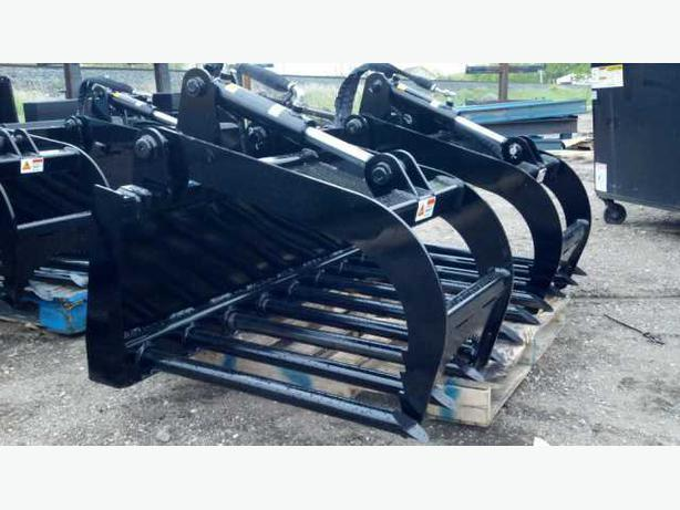"72"" EXTRA HEAVY DUTY MANURE GRAPPLE"