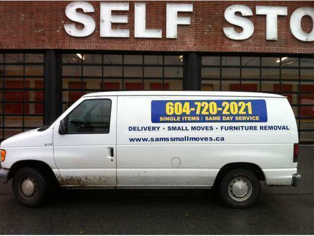 Furniture Taxi - Delivery, Small Moves -Junk Removal - East Vancouver Mover