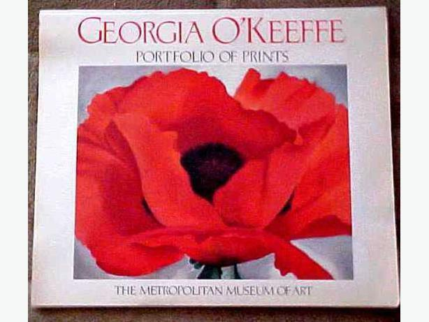 PORTFOLIO OF GEORGIA O'KEEFFE PRINTS