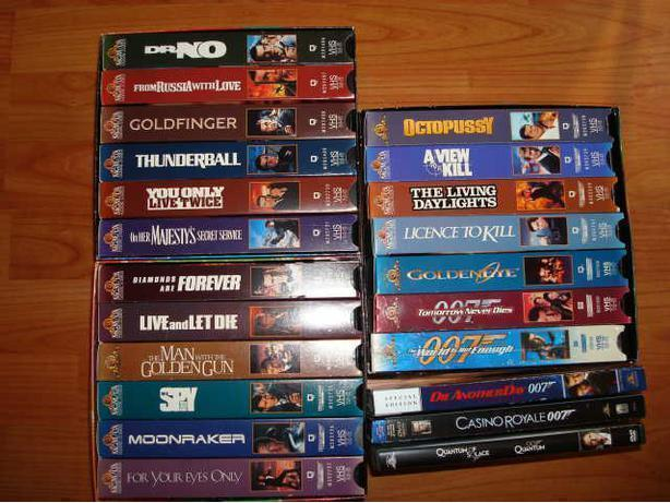 JAMES BOND COLLECTION OF MOVIES ((( $1.00 each )))