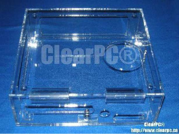ClearPC Microsoft XBOX Slim Security Case in Clear Acrylic